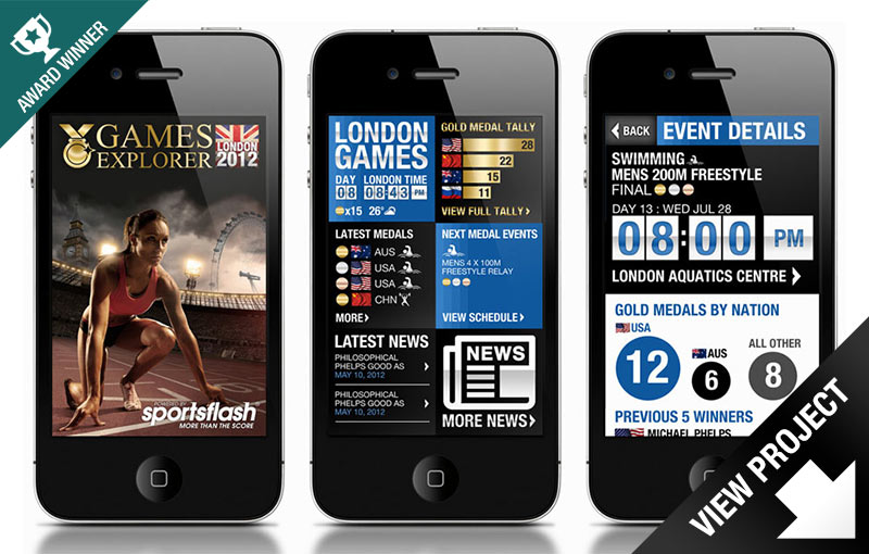 Olympic Games Explorer iPhone App